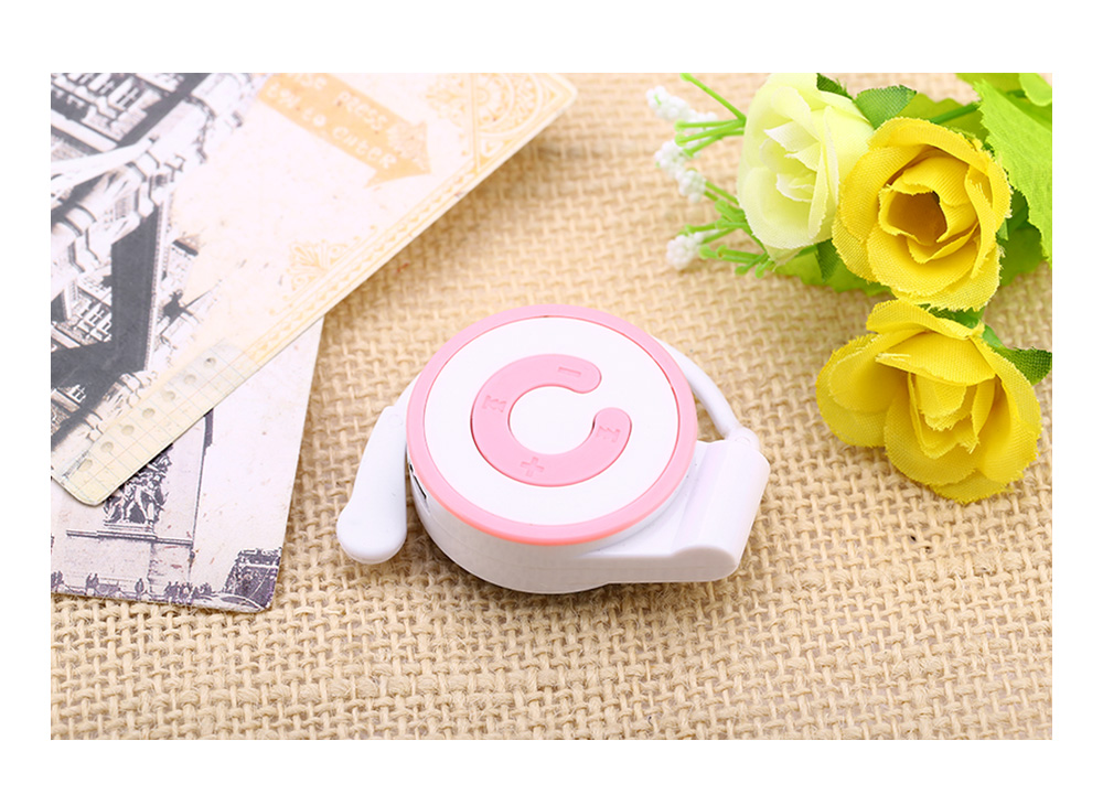 Multicolor Mini Portable Support 16G TF Card Ear-hook MP3 Music Player