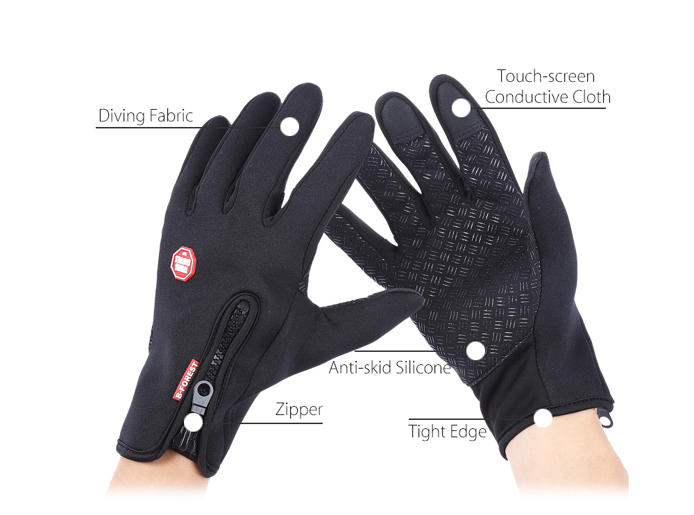 Paired Outdoor Windproof Sport Skiing Screen Glove for Cycling Bicycle Mountaineering Motorcycle Racing