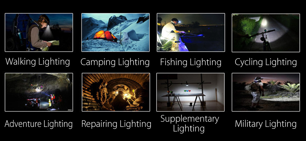 Universal Outdoor Camping Tent Light LED Lamp with Handle