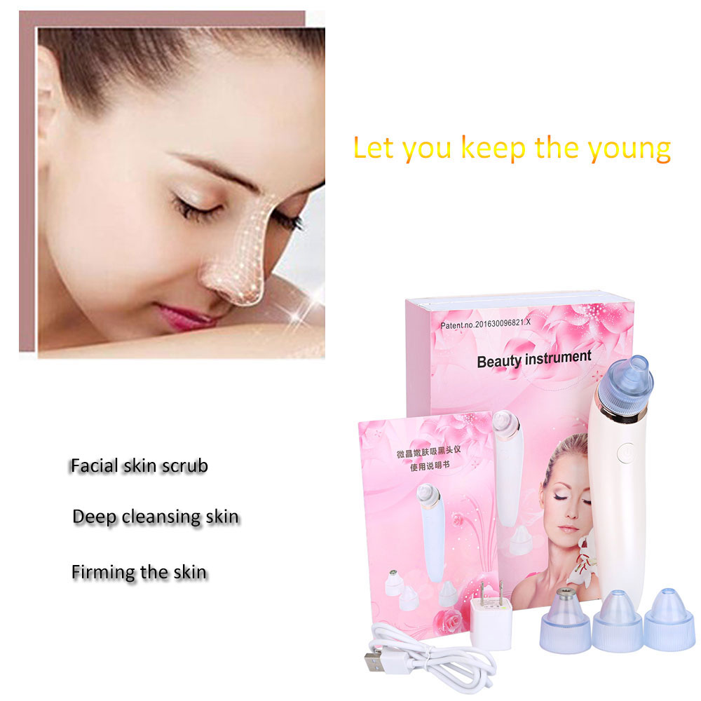 Face Pore Cleaner Nose Blackhead Acne Remover Face Care Beauty Machine