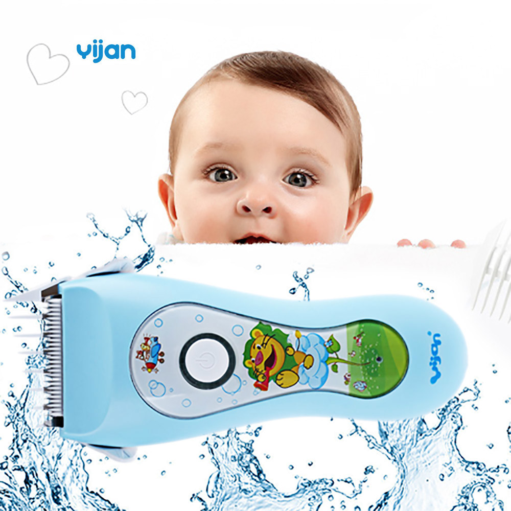 Yijan HK85S IPX7 Waterproof 1 Hour Charging Variable Speed Low Noise Operation Kids Smart Hair Clipper