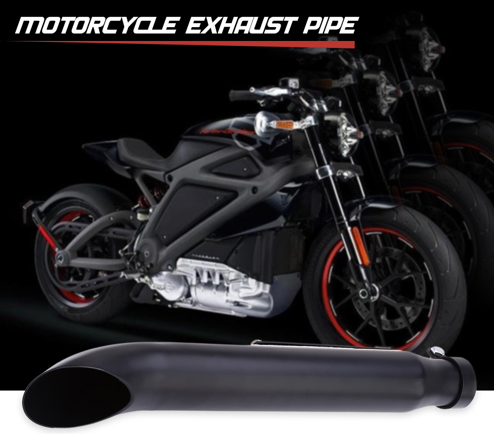 Motorcycle Exhaust Pipe Chrome Material for Harley Davidson Scooter