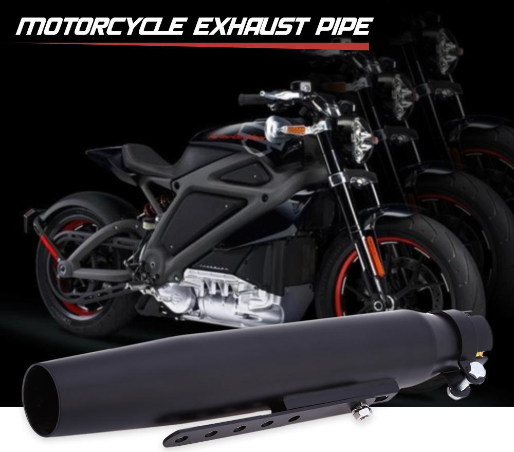 Motorcycle Exhaust Pipe Chrome Material for Harley Davidson Scooter 1995 - 2016
