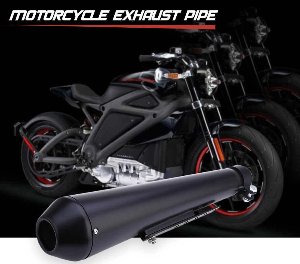 Motorcycle Exhaust Pipe Chrome Material for Harley Davidson 1995 - 2016