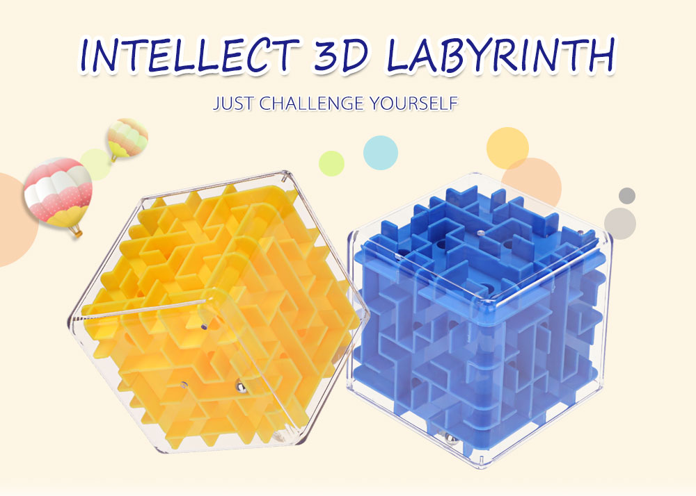 Creative Intellect 3D Labyrinth Brain Teaser Puzzle Game Christmas Gift