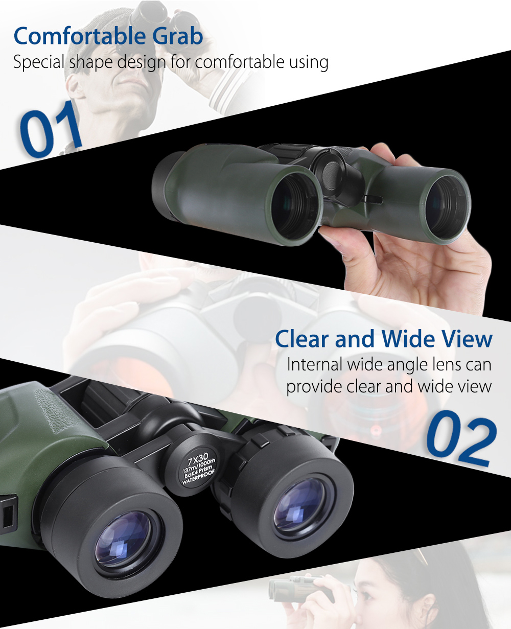 Comet AX11 - 730 Multifunction Zoom Metal Collapsible Binocular High-definition Telescope