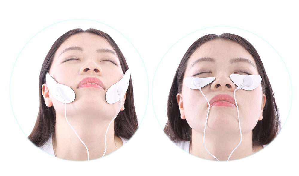 Professional Facial Health Care Electrotherapy Digital Device Physical Therapy Massaging Machine