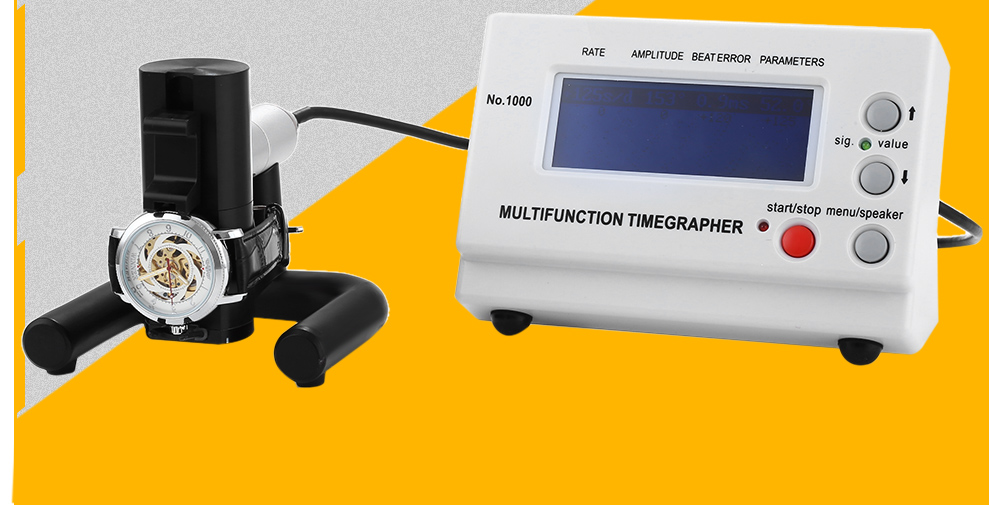 Multifunction Timegrapher NO.1000 Watch Tester