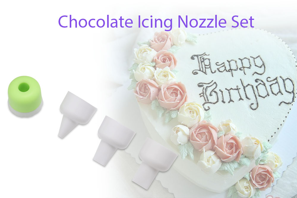Chocolate Decorating Icing Nozzle Set Pastry Tool