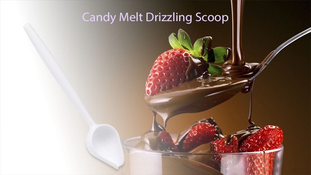 Ice Cream Chocolate Candy Melt Drizzling Scoop