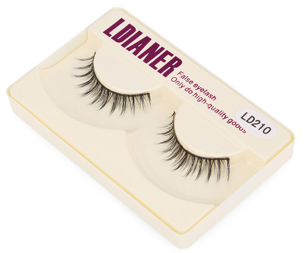 LDIANER Natural Thick Long Makeup Fake Eyelashes