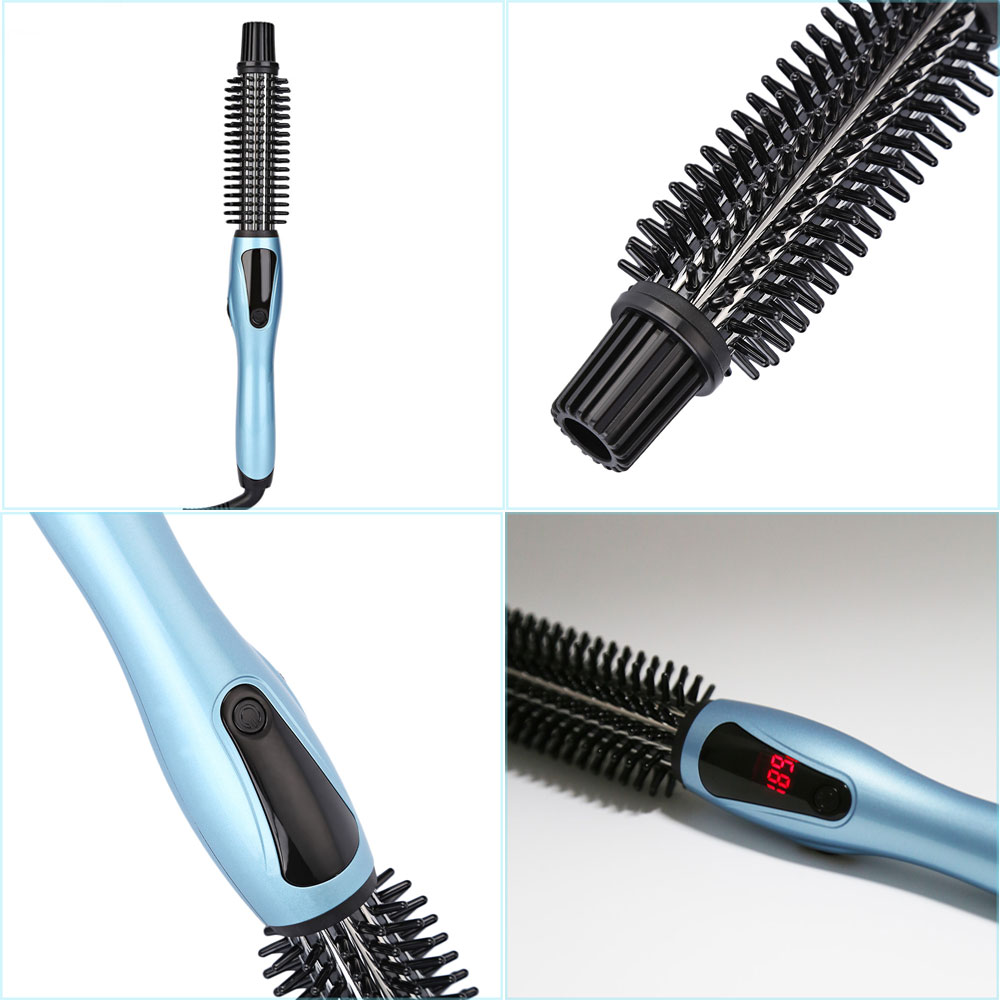 PHOEBE LM - 223 Professional Salon Tapered Ceramic Curling Iron Wave Wand Hair Curler