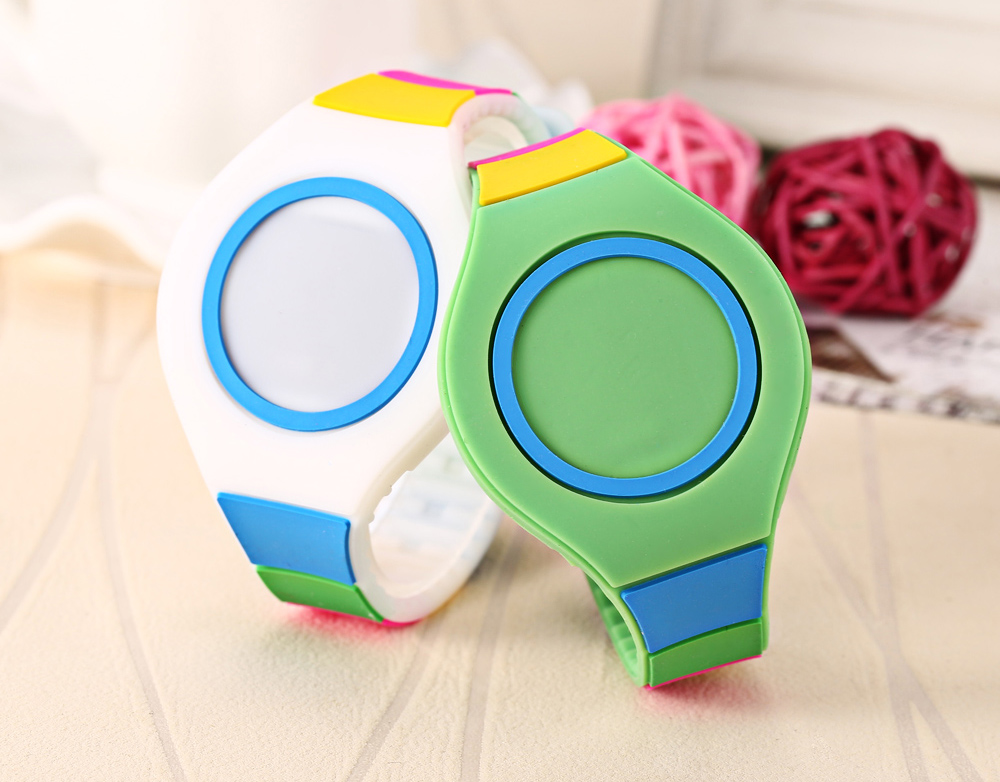 Kids LED Digital Watch Date Display Sport Touch Wristwatch