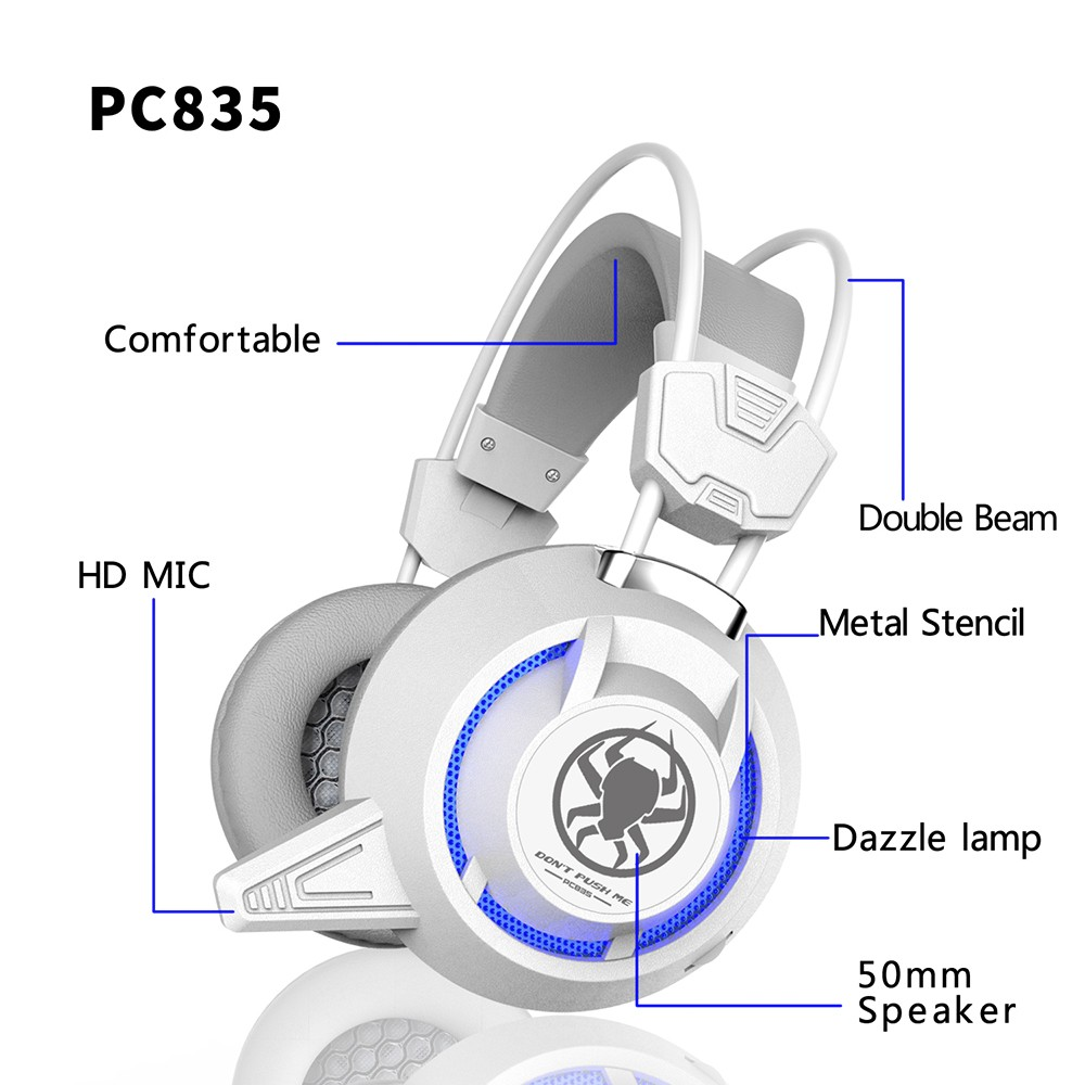 PLEXTONE PC835 Over-ear Gaming Headphone with Mic