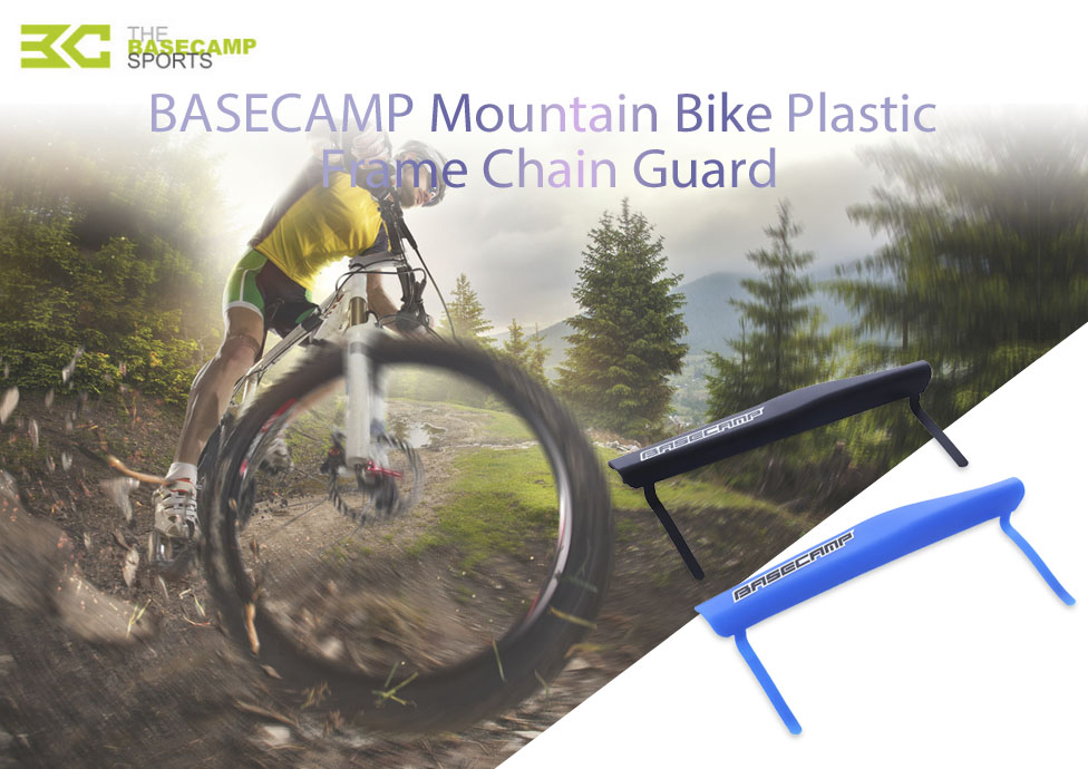 BASECAMP Bicycle Cycling Plastic Frame Chain Guard Protector Cover