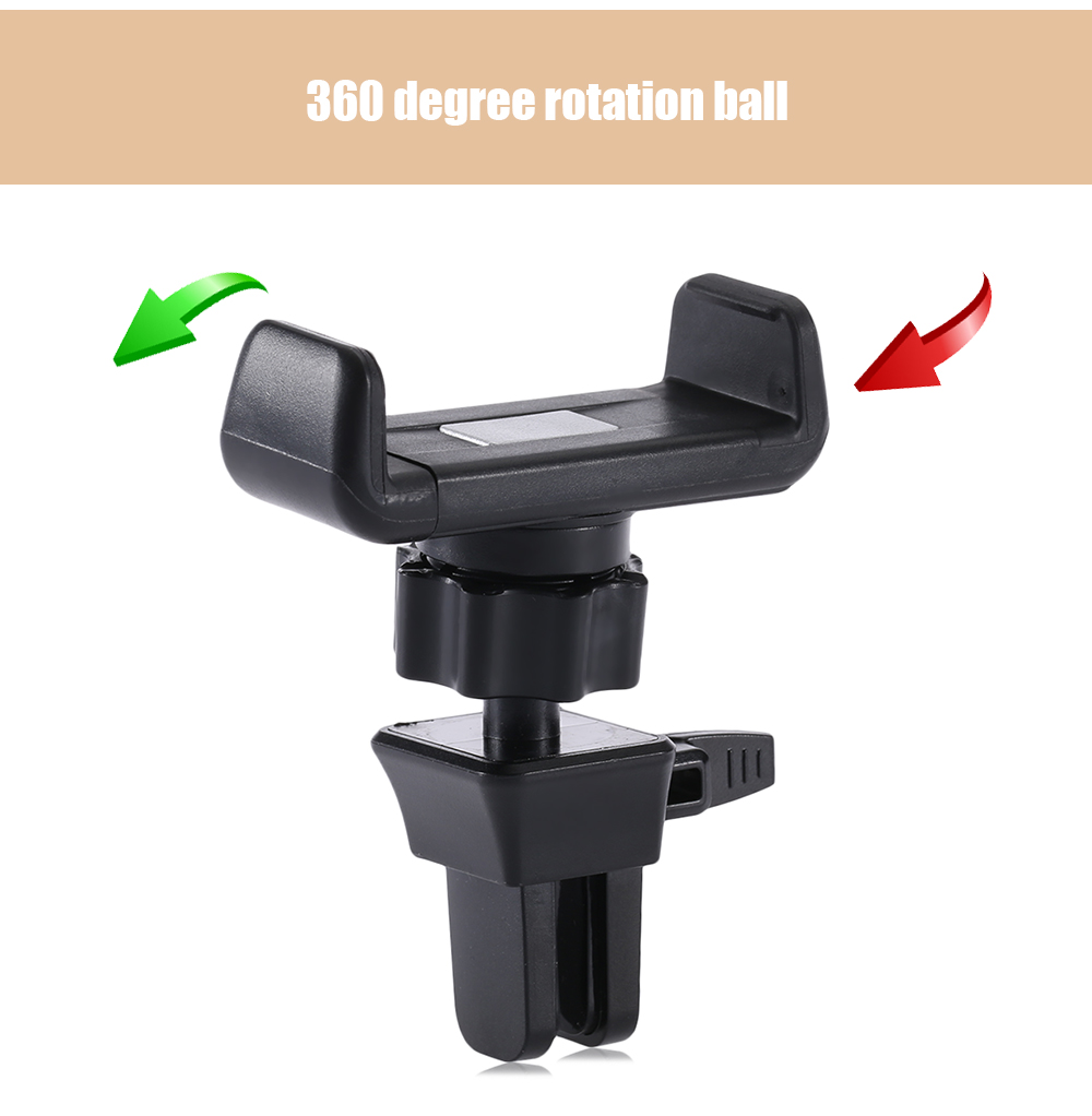 H93 + C90 Automobile Air Outlet Mobile Phone Holder Light Weight Mini Design