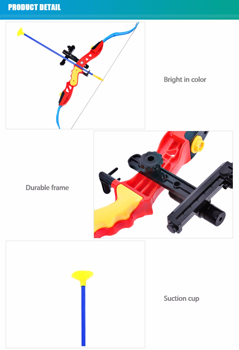 Hongxiang Bow and Arrow Shooting Set Emulation Weapons Model Toy