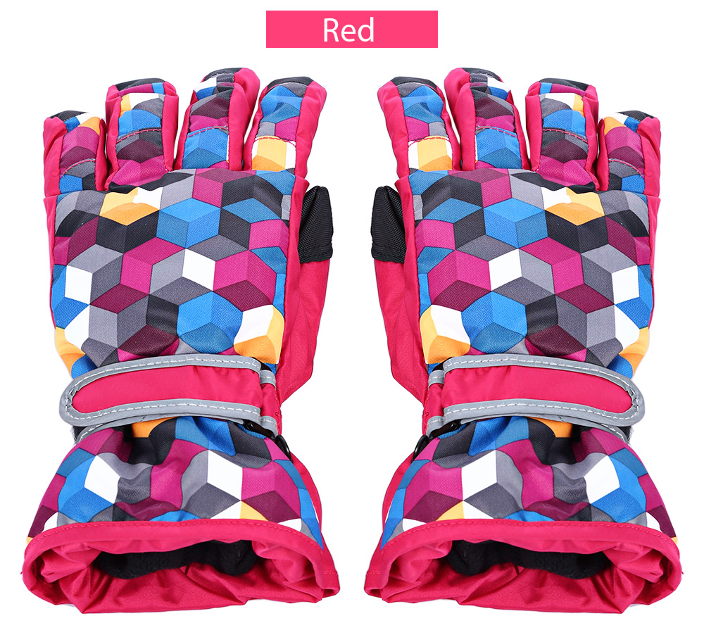 BENICE Paired Motorcycle Water Resistant Windproof Warm Protection Thickened Skiing Gloves