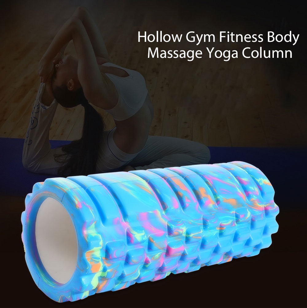EVA Hollow Gym Fitness Yoga Column Body Massage with Floating Point Muscle Relaxation Tool