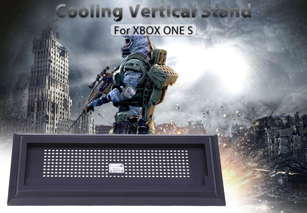 Vertical Stand Cooling Holder for Xbox One S Console