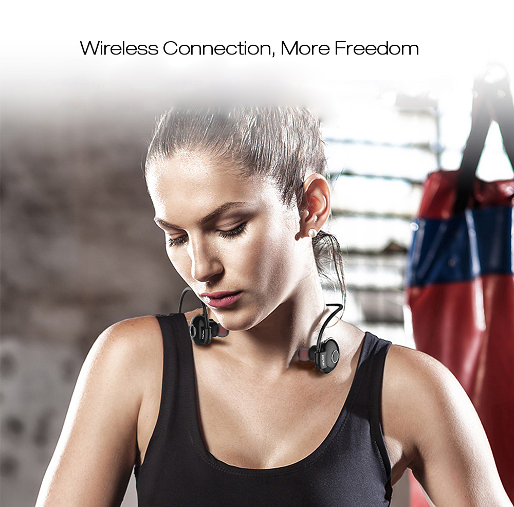 Awei A845BL Bluetooth V4.1 Noise Reduction Neckband Earphones