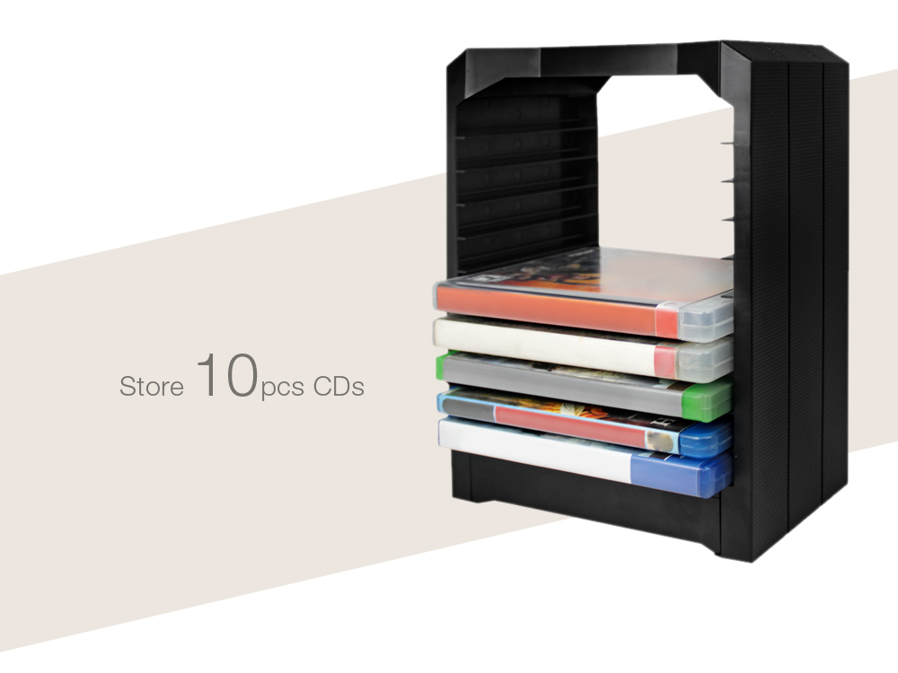 Game CD Storage Tower Holder for Xbox One PS4