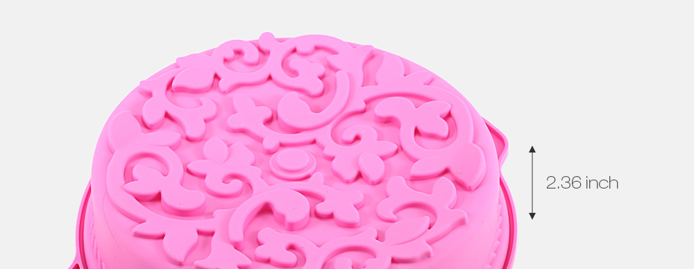 Flower Shaped Silicone Baking Cake Pan Chocolate Jelly Mould