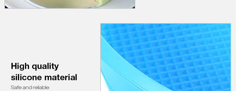 Round Silicone Cake Pan Baking Mould for Kitchen
