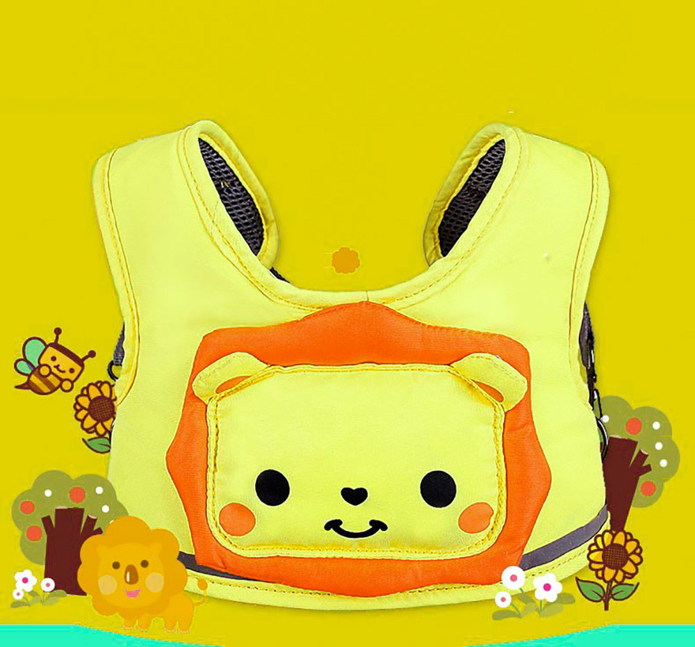 MAMBOBABY Cartoon Design Toddler Anti-lost Belt Child Safety Learning Walking Assistant Belt