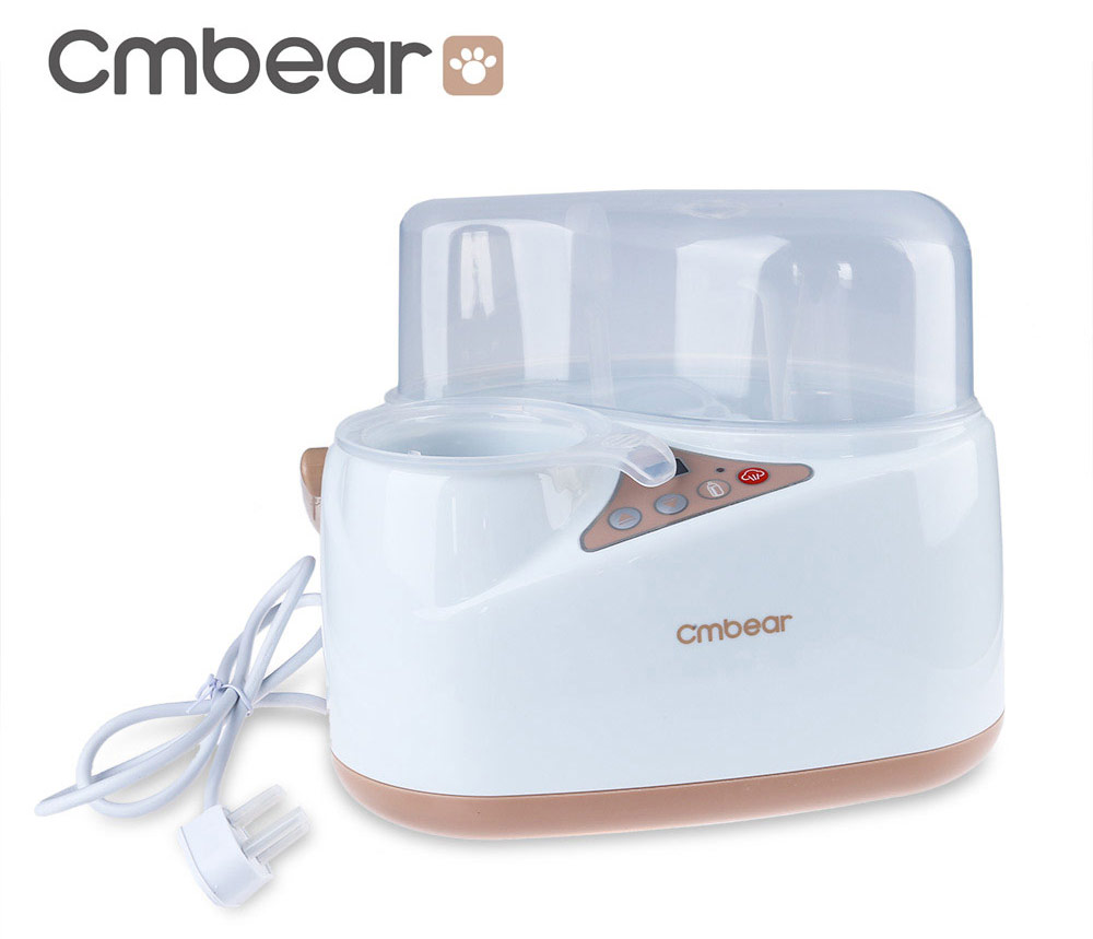 Cmbear Multifunctional Large Capacity BPA Free Food Grade PP LCD Bottle Warmer Sterilizer