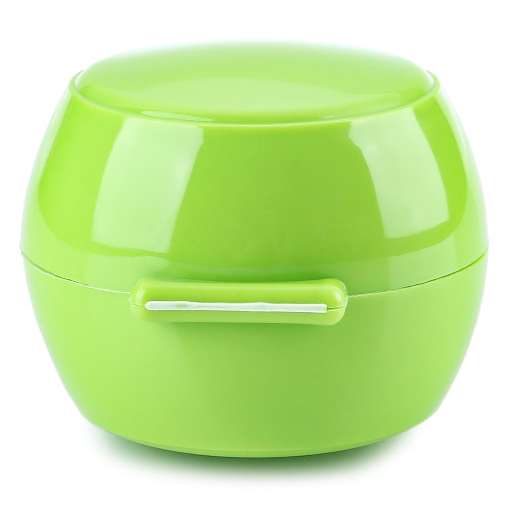 Baby Practical Solid Color Drum Shape Geometric PP Pacifier Box