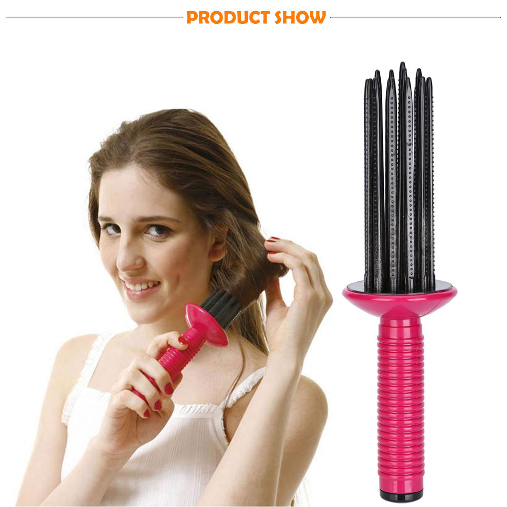 Straight Hair Curling Dual-purpose Fluffy Curls Air Styling Comb