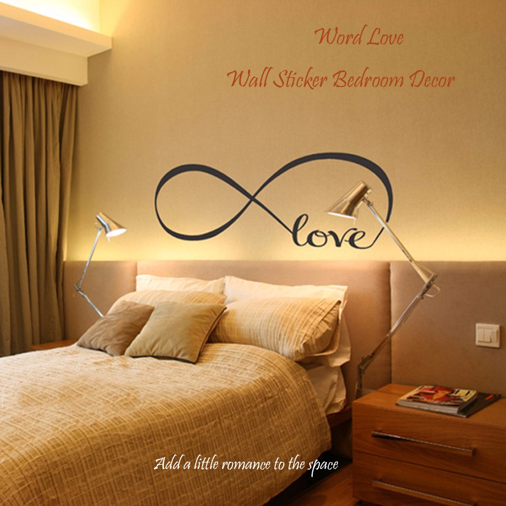 Removable Word Love Wall Sticker Home Bedroom Decor