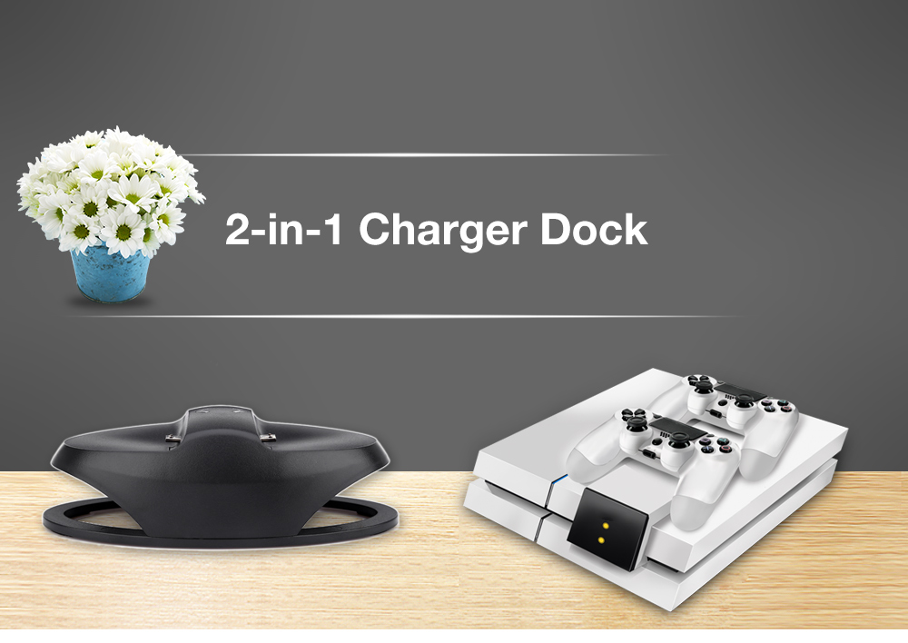 Dual Charging Charger for PS4 Controller