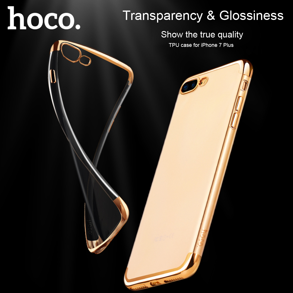 HOCO Ultra Slim Electroplate Plating TPU Case for iPhone 7 Plus