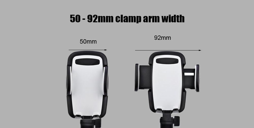2 in 1 Practical Car Charger Cellphone Holder Mount 2 USB Output 360 Degree Rotation