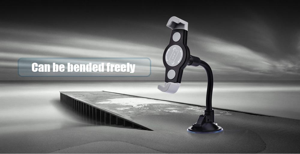 360 Degree Universal Car Cellphone Holder Diagonal Windshield Dashboard Mount Stand