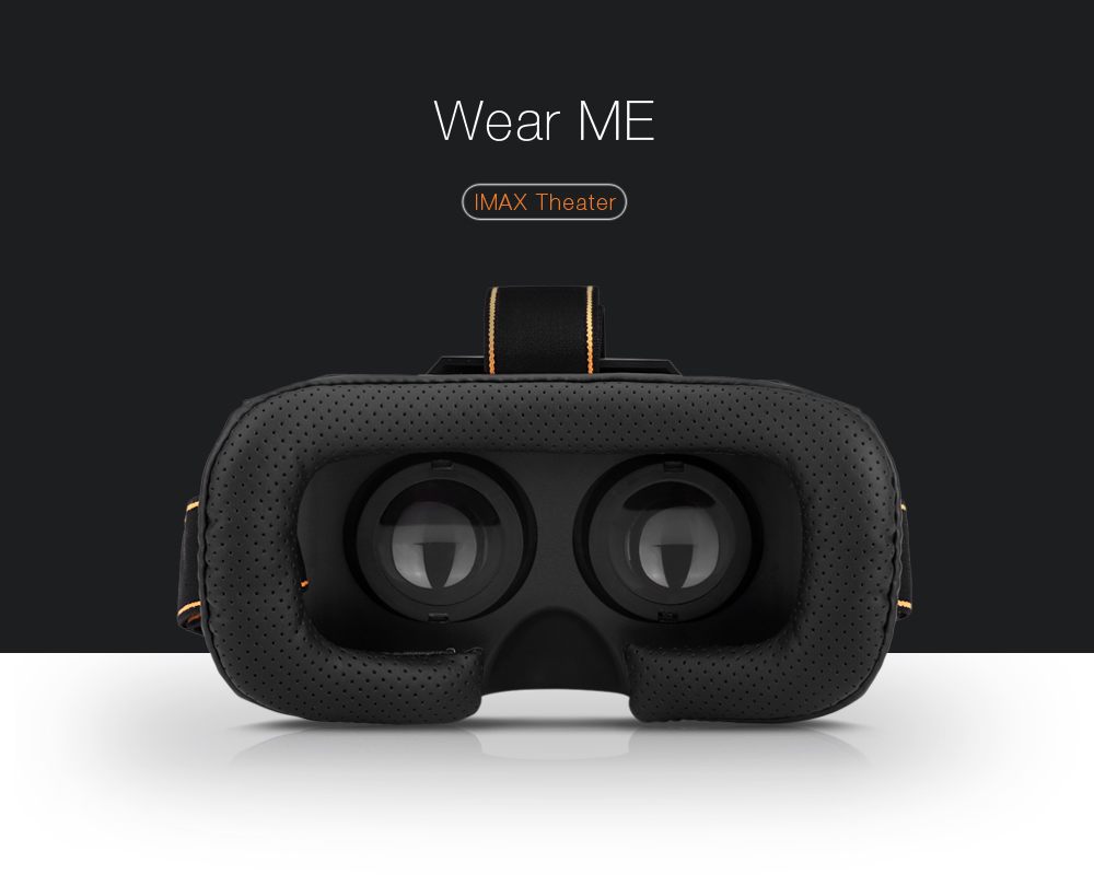 3D Movie Game Virtual Reality Glasses for 4.7 - 5.5 inch Phone