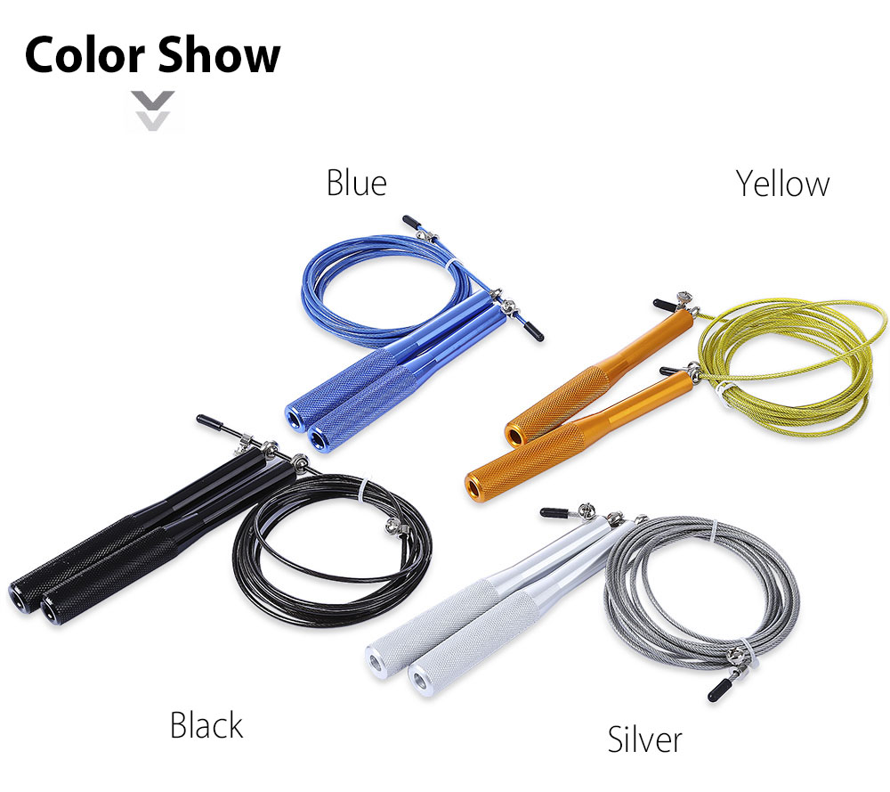 Useful Steel Wire Abrasion Resistance Jump Skipping Rope