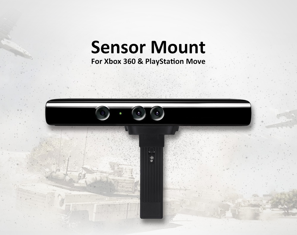 Wall TV Mount Clip for Kinect / PlayStation Move
