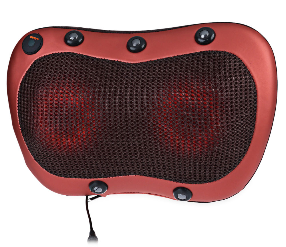 TJK Multifunction Massager Pillow Automobiles Home Dual-use Infrared Heating Massage Devices