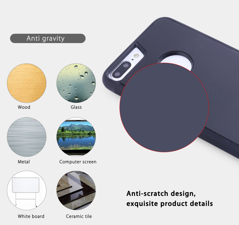 Anti Gravity Adsorption Protective Back Cover for iPhone 7 Plus 5.5 inch