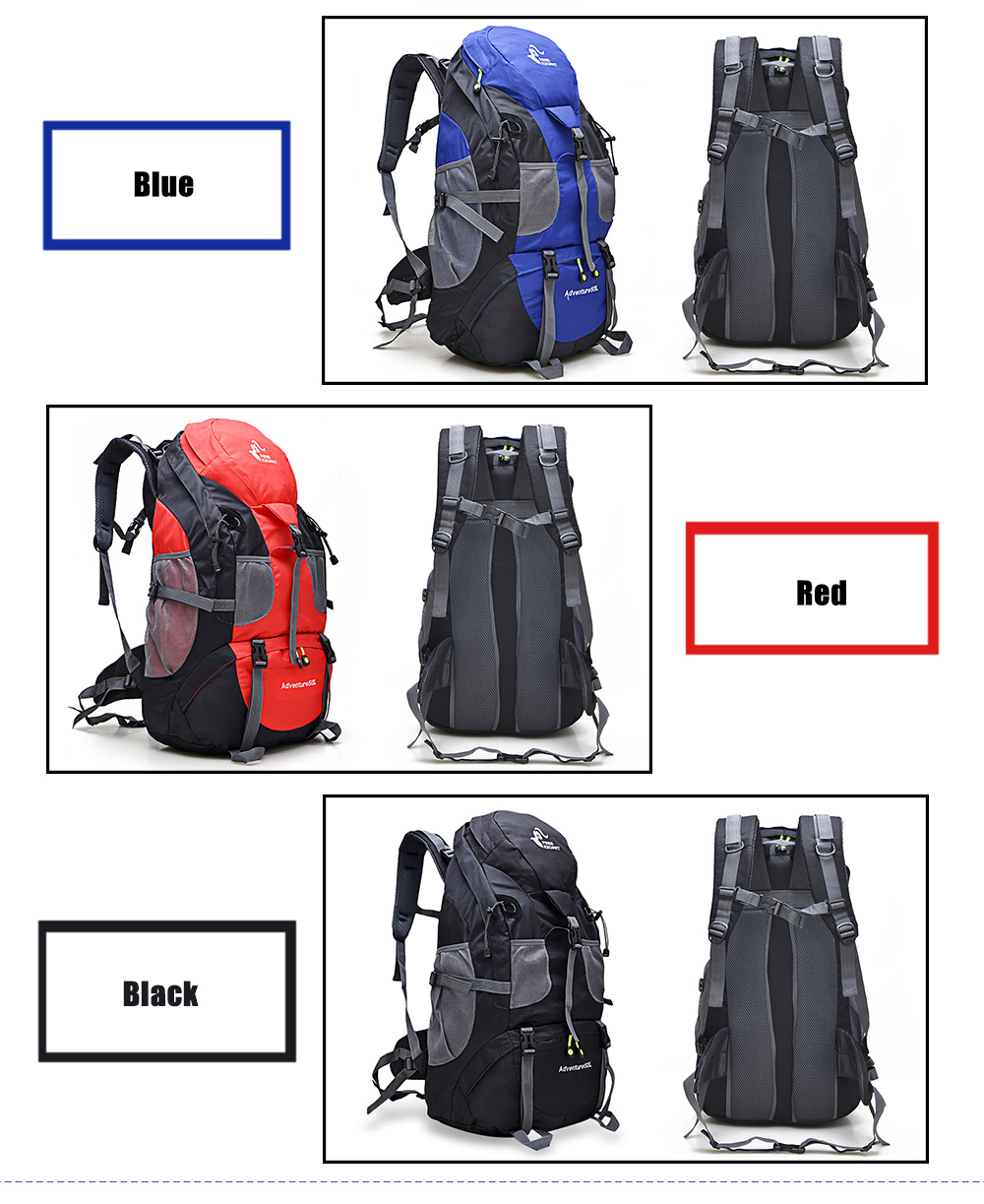 FREEKNIGHT FK0396 Waterproof Nylon Backpack for Outdoor Climbing Cycling Hiking