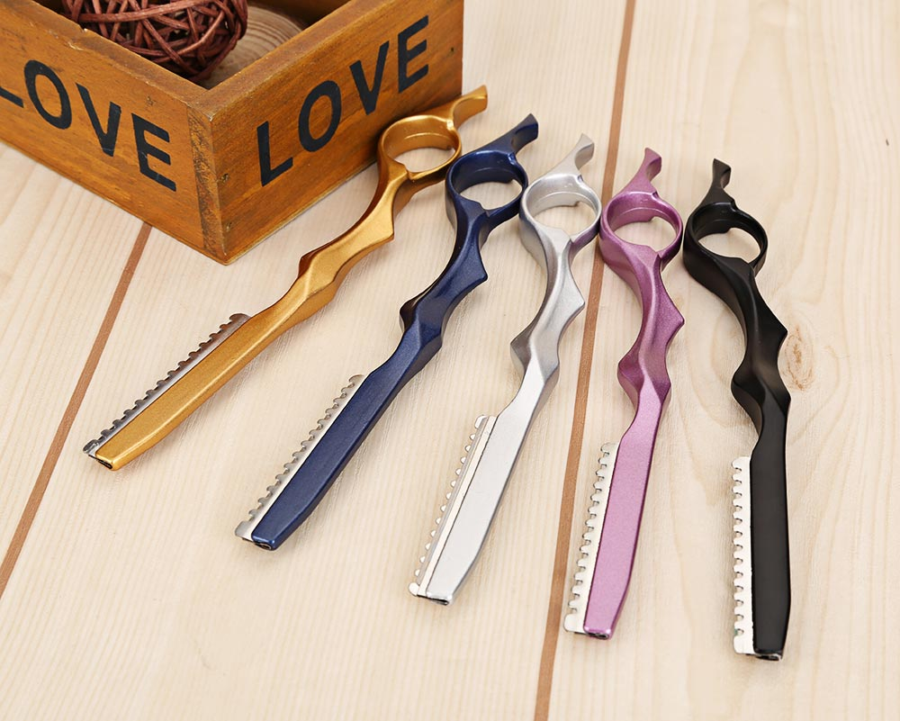 2 in 1 Hair Scissor Thinning Shears Cutting Barber Hairdressing Styling Tool