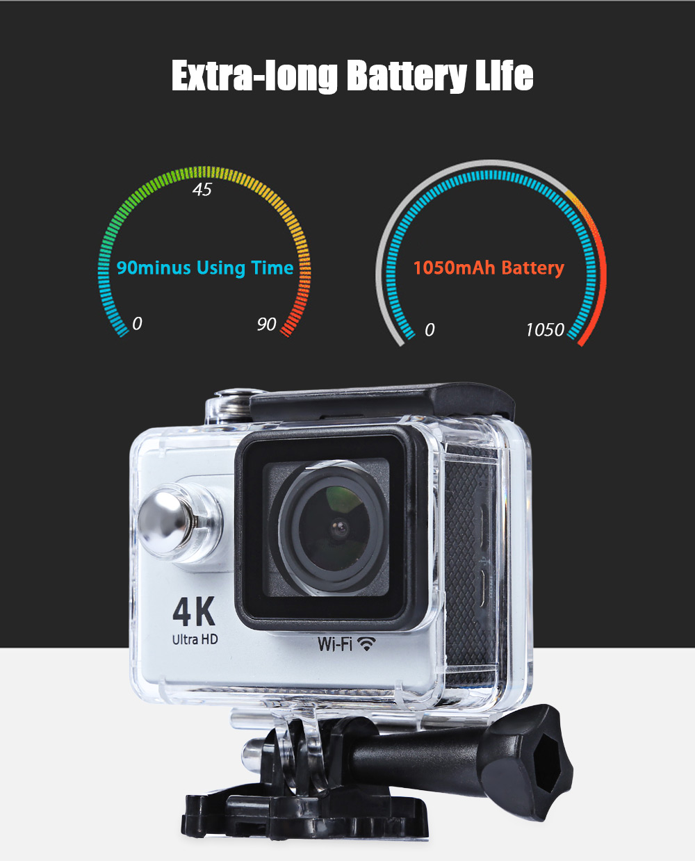 H9 1080P 30M Waterproof Action Sport Camera