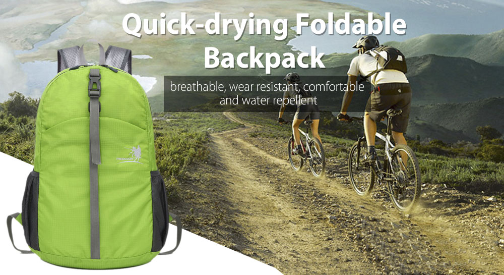 FREEKNIGHT FK0722 Waterproof Foldable Backpack for Outdoor Climbing Cycling Hiking