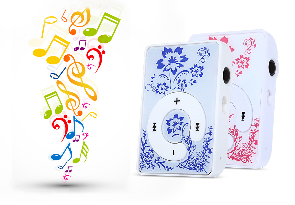 Support 16G TF Card MP3 Music Player