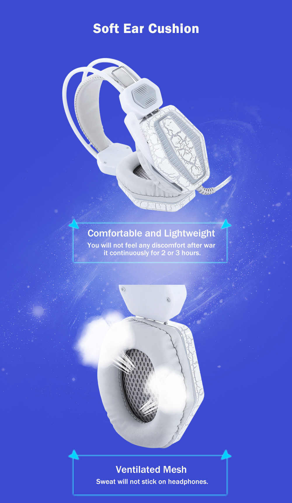 Stereo Gaming Game Headset Headphones