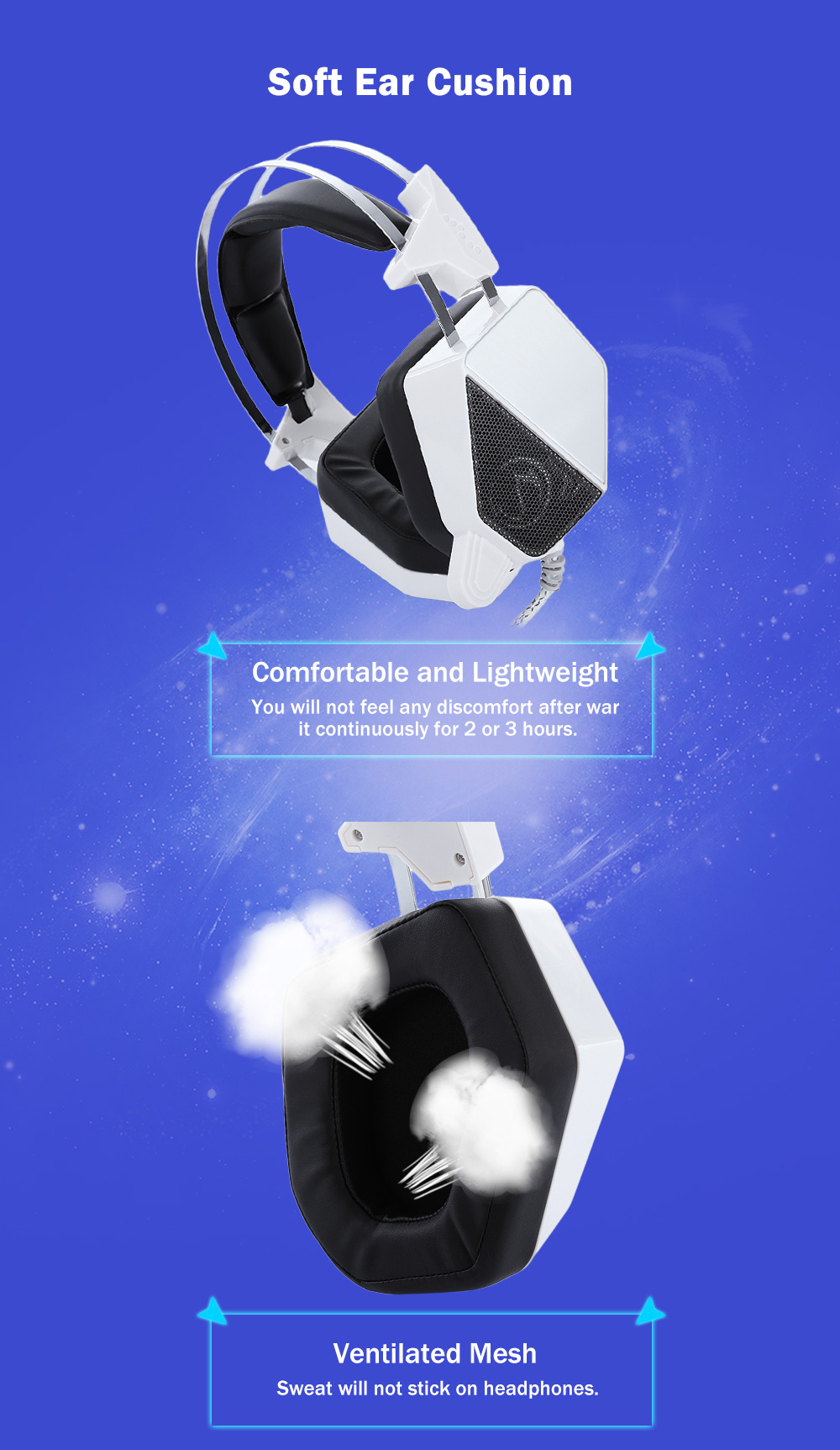 Stereo Game Gaming Headset Headphones