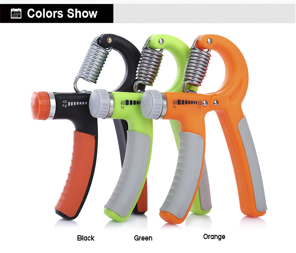 WIN MAX 10 - 40kg R-shape Adjustable Hand Heavy Gripper Grip Wrist Forearm Strength Power Training for Gym Fitness